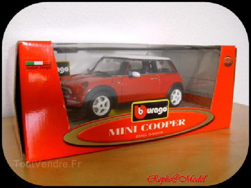 1/18 mini cooper burago made in italie cod. 34079 102506003