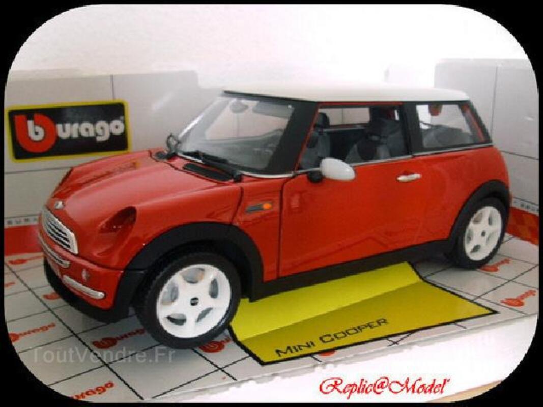 1/18 mini cooper burago made in italie cod. 34079 102506004
