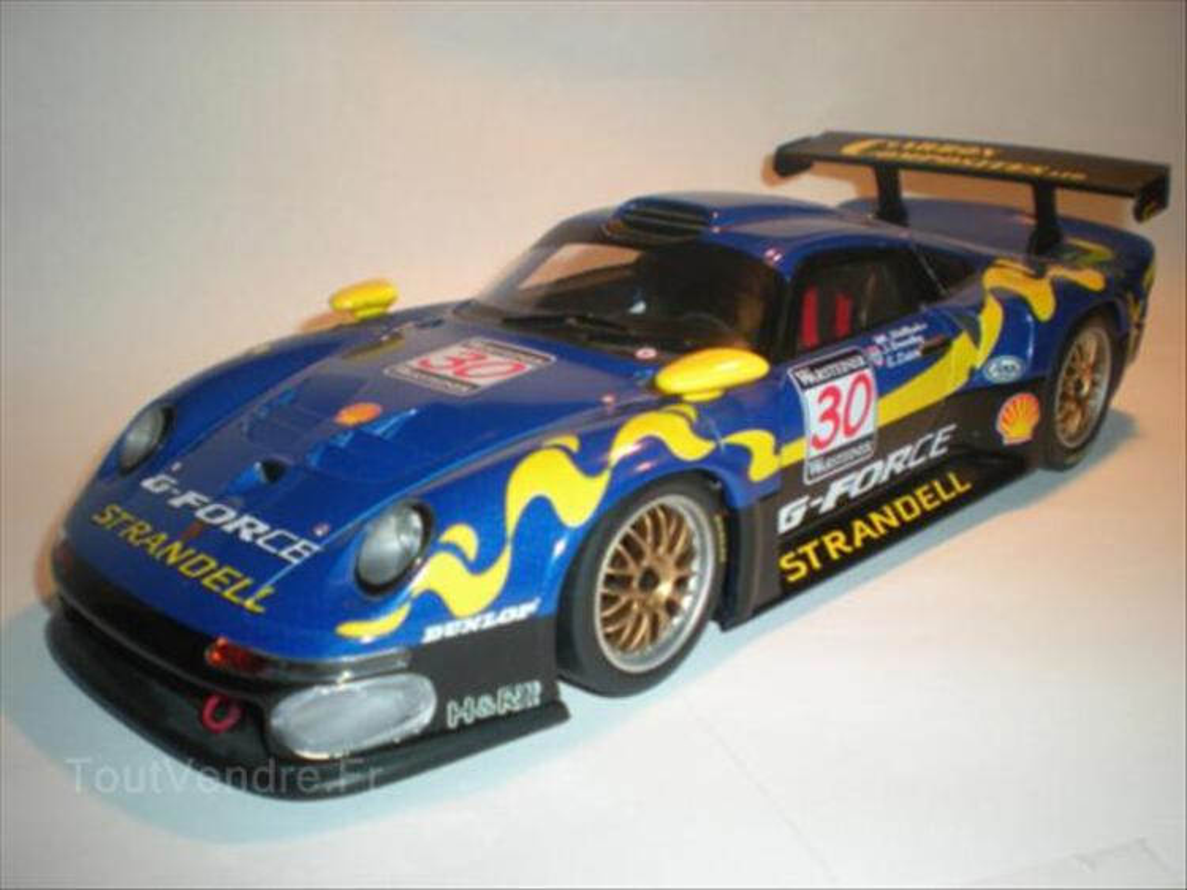1/18 Porsche 911 GT1 #30 G Force UT Models TBE 64587302