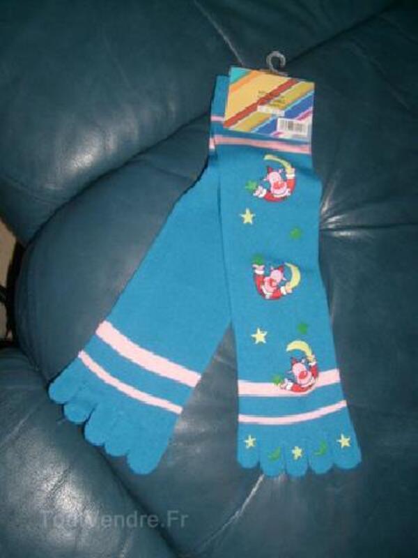 1 paire de chaussettes à douilles (orteils) neuf bleu 92582892