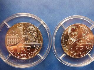 10 EUROS ARGENT REGION FRANCHE-COMTE ANNEES 2011et2012