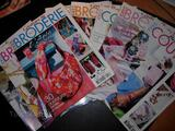10 magazines : Idées Broderie & Couture