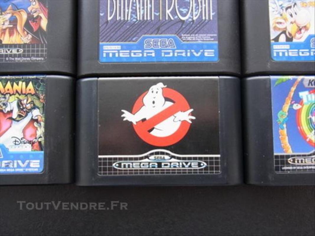 11 jeux SEGA MEGA DRIVE + Ghostbusters + Sonic&Knuckles 85518045