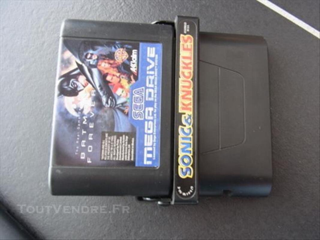 11 jeux SEGA MEGA DRIVE + Ghostbusters + Sonic&Knuckles 85518046