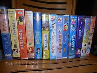 13 CASSETTES VHS POUR ENFANTS