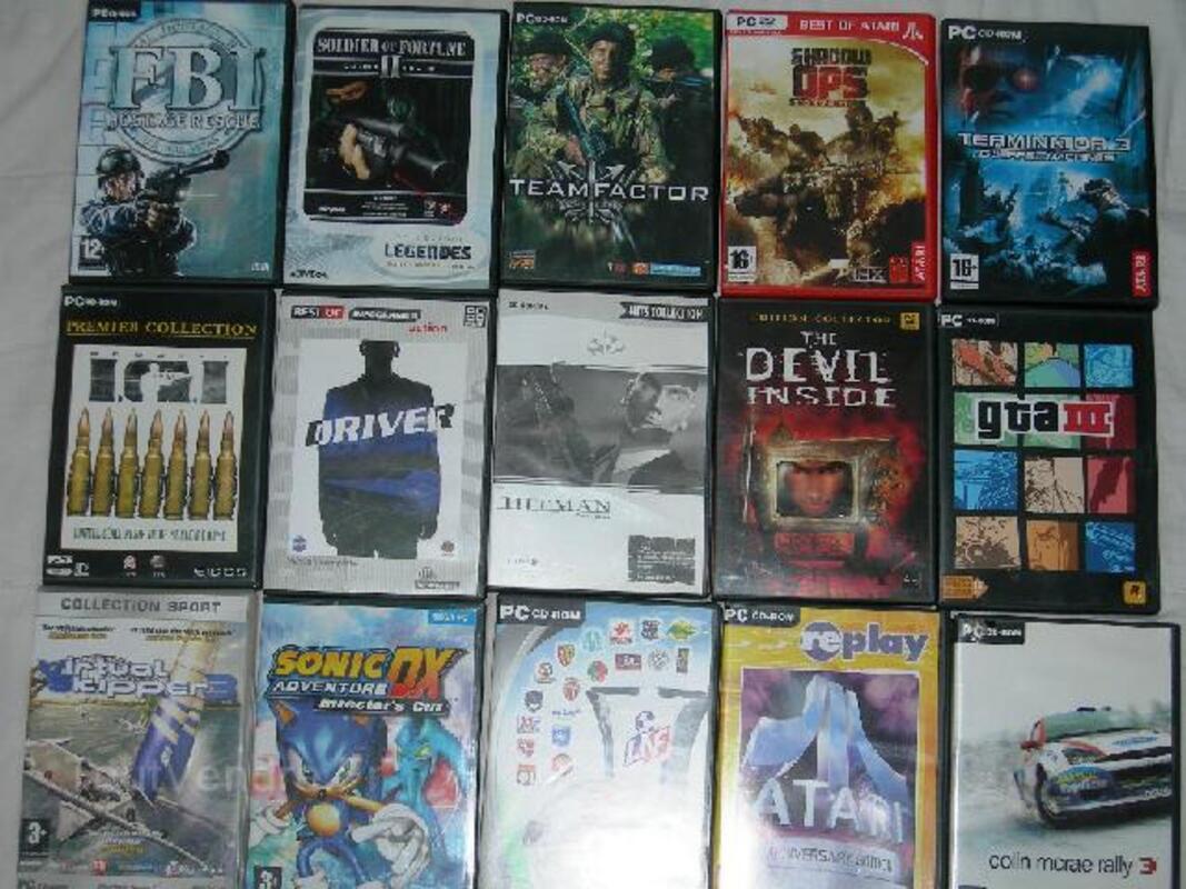 15 Jeux Vidéo pour PC 103120260