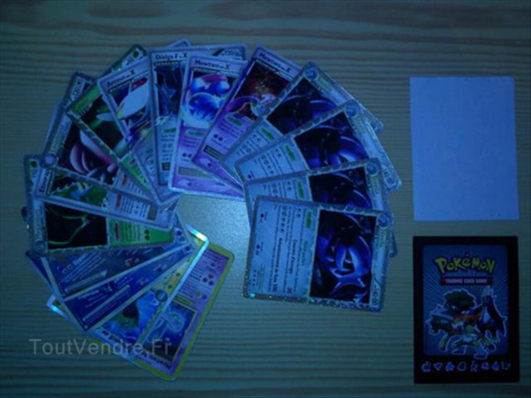 16 cartes Pokémon Ultra Rare 64439147