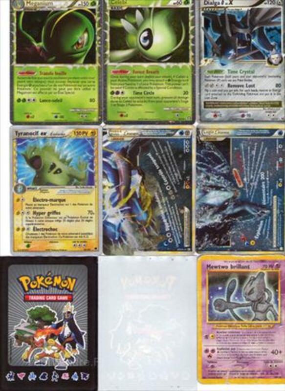 16 cartes Pokémon Ultra Rare 64439148