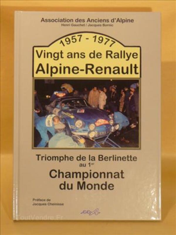"""""""1957 - 1977 Vingt ans de Rallye Alpine-Renault"""" 23401538"""