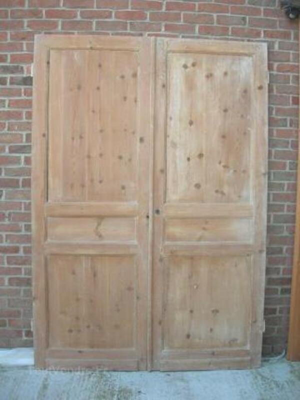 2 anciennes portes de placard 97232977