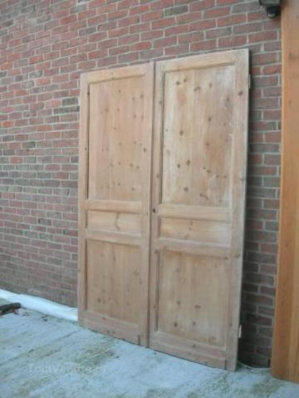 2 anciennes portes de placard 97232978