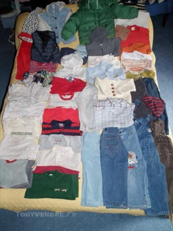 2 ANs 24 Mois Garçon LOT 70 vêtements + CHEVIGNON 45537167
