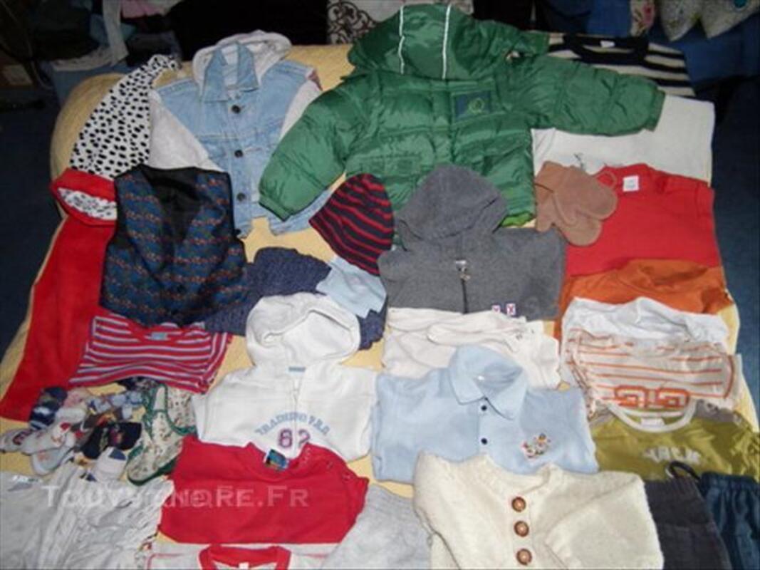 2 ANs 24 Mois Garçon LOT 70 vêtements + CHEVIGNON 45537168