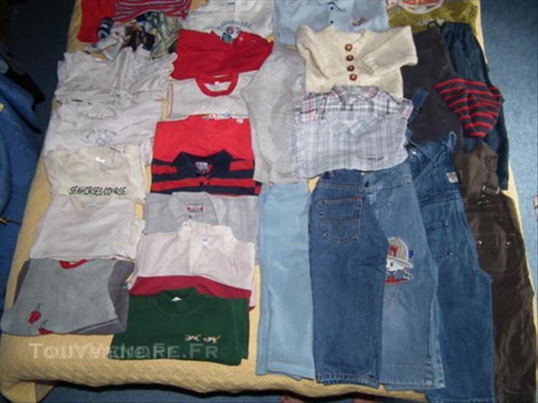 2 ANs 24 Mois Garçon LOT 70 vêtements + CHEVIGNON 45537169