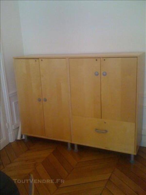 2 armoires de bureau EFFEKTIV IKEA 85261429