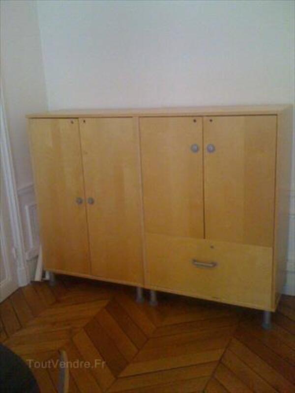 2 armoires de bureau EFFEKTIV IKEA 87358731