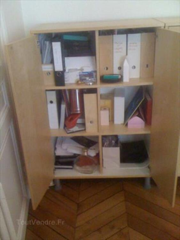 2 armoires de bureau EFFEKTIV IKEA 87358733