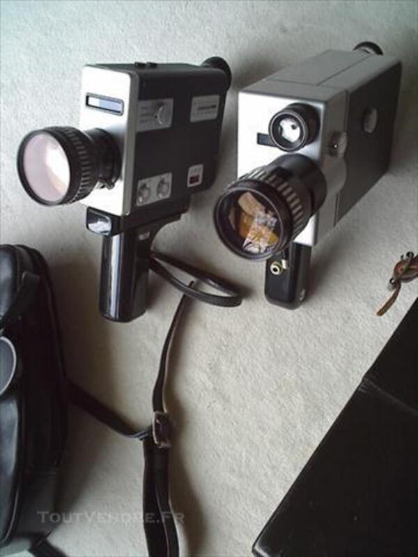 2 CAMERAS NIZO 8mm/Super8 Variogon avec accessoires 75696293