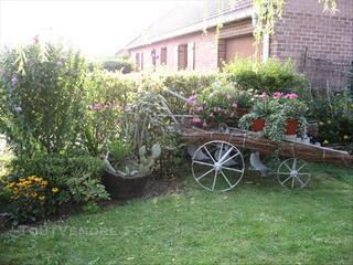 2 charrues  pour décoration pour jardin