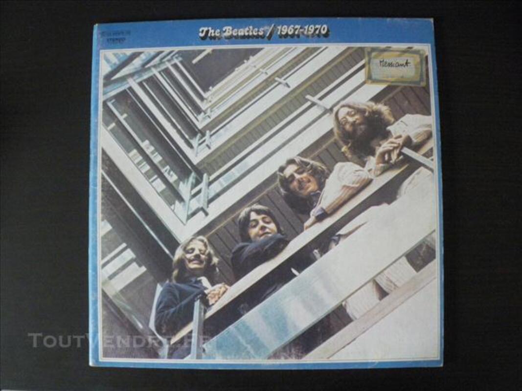 2 doubles albums Rouge et Bleu des Beatles 76745598