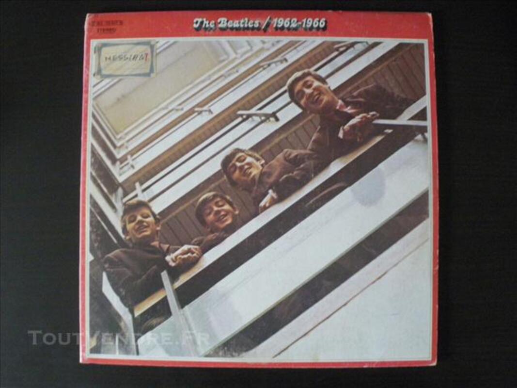 2 doubles albums Rouge et Bleu des Beatles 76745599