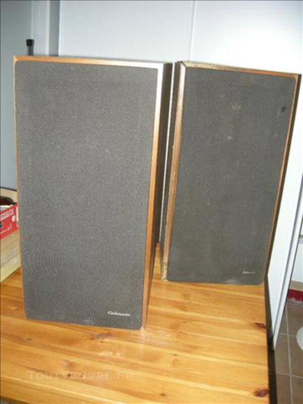 2 enceintes haut-parleurs Cabasse 77521363