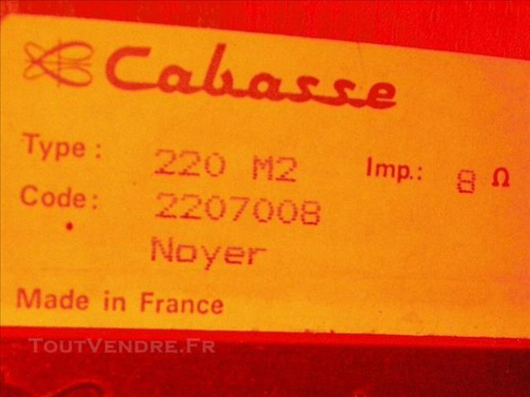 2 enceintes haut-parleurs Cabasse 77521365