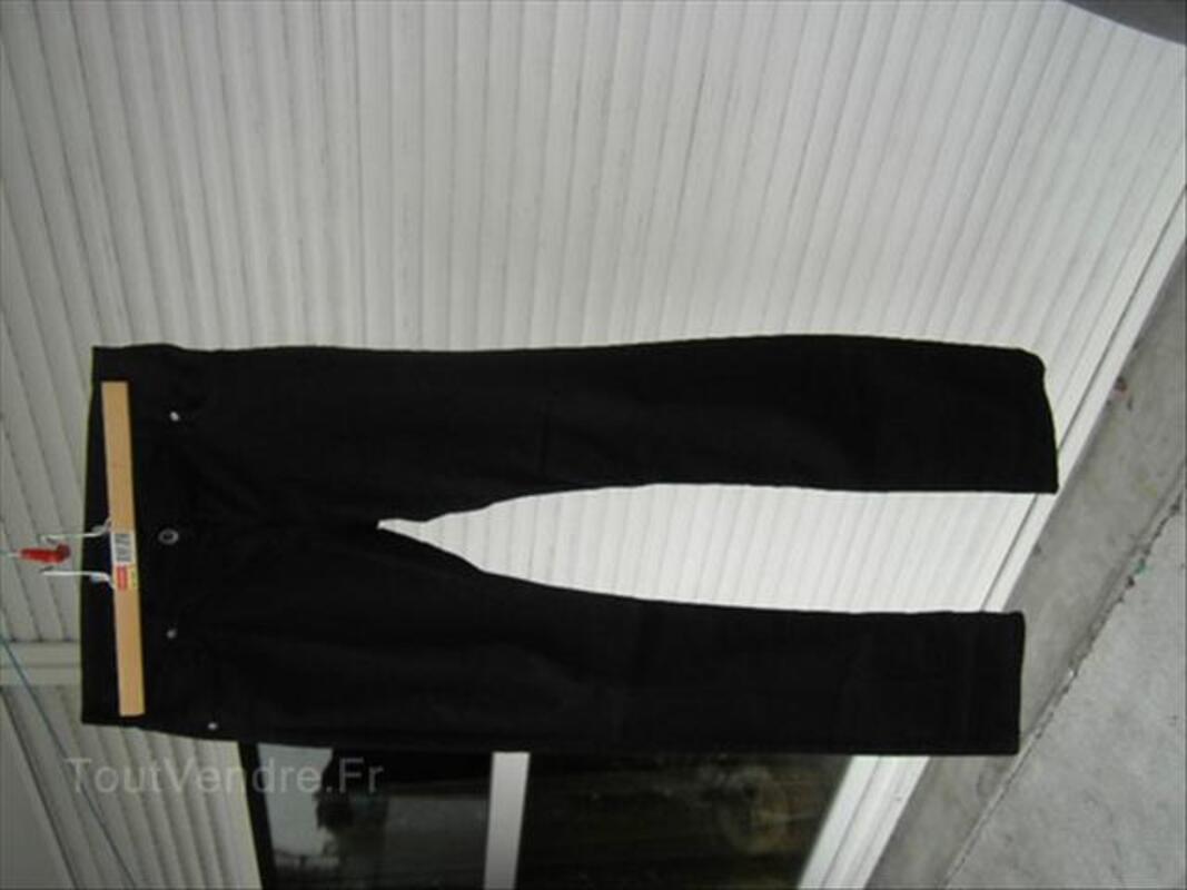 2 Jeans noir un Sqin H&M est un Etam noir 54691002