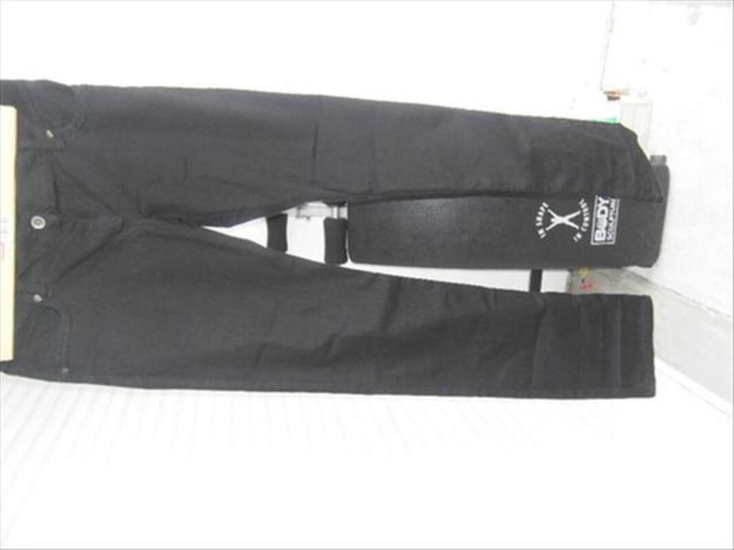 2 Jeans noir un Sqin H&M est un Etam noir 54691005