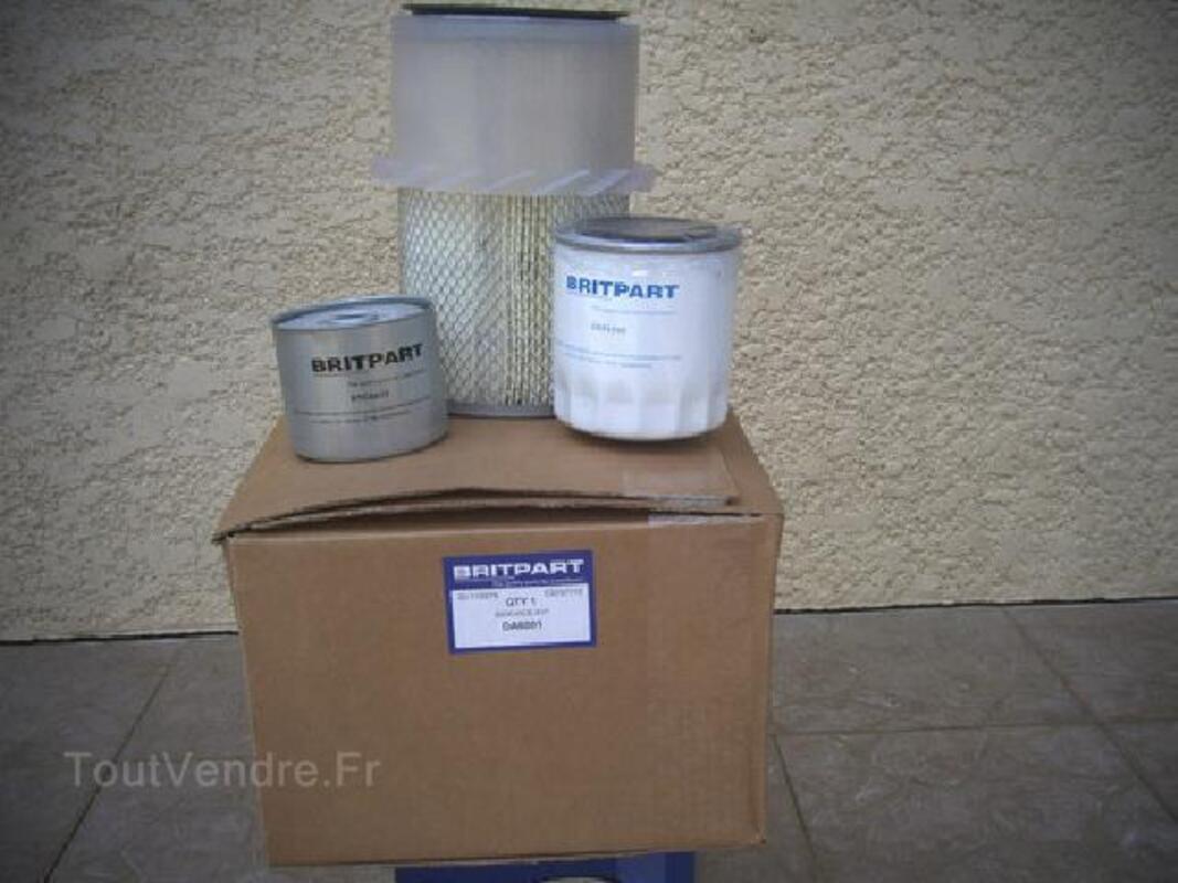 2  Kits  filtres LAND ROVER DEFENDEUR Turbo D 92250019