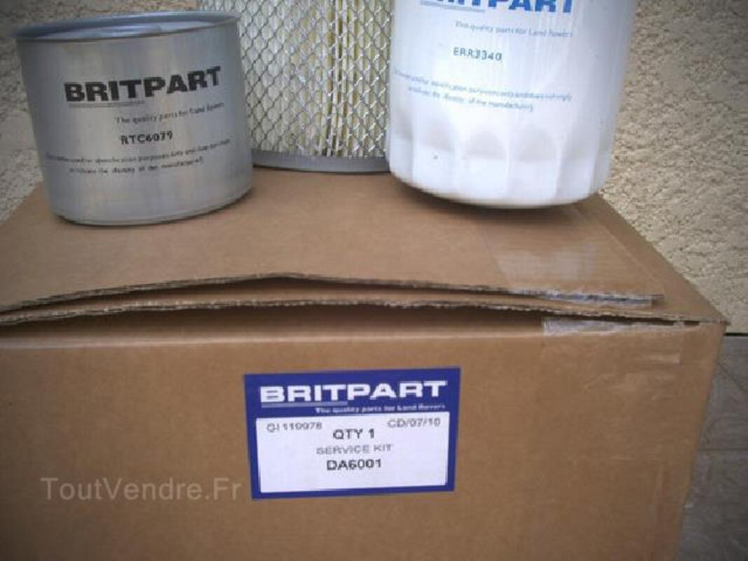 2  Kits  filtres LAND ROVER DEFENDEUR Turbo D 92250020