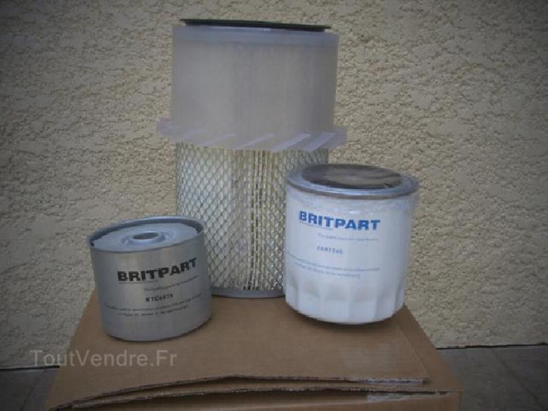 2  Kits  filtres LAND ROVER DEFENDEUR Turbo D 92250021