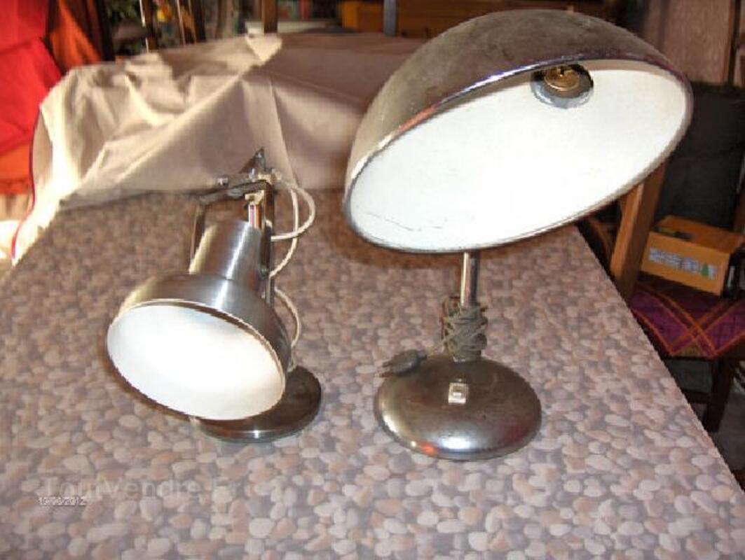 2 lampe de bureaux ancienne 96261442