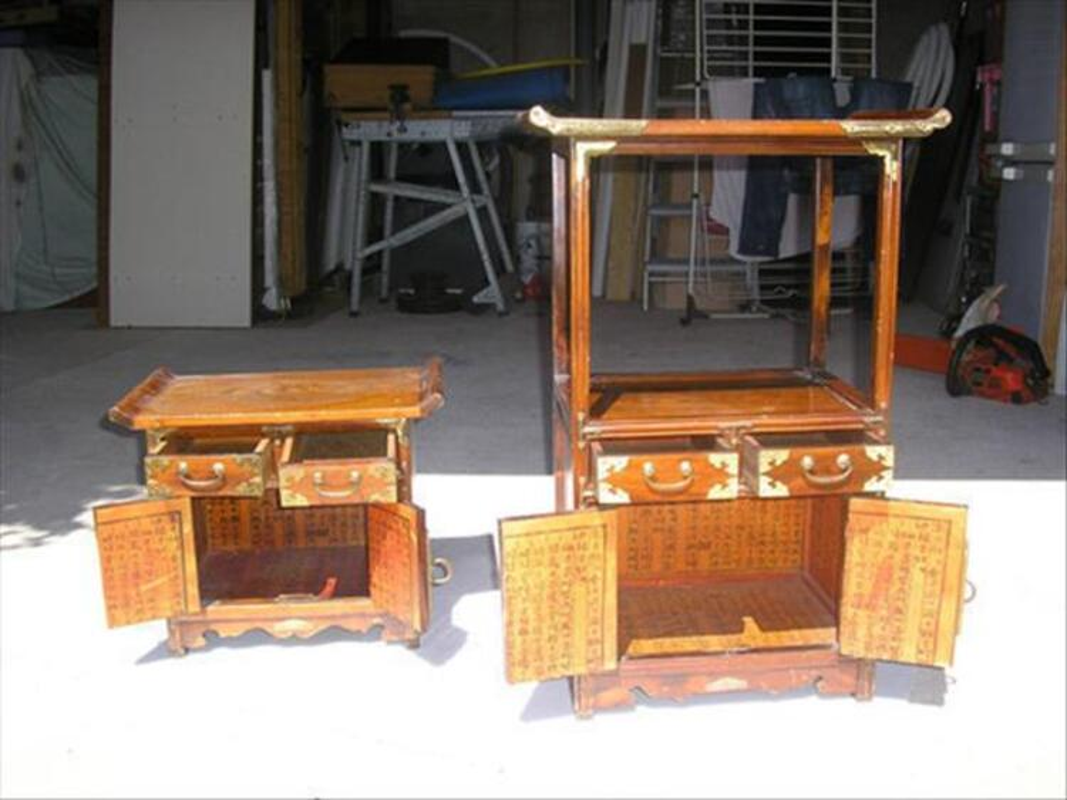 2 meubles asiatiques 84049277