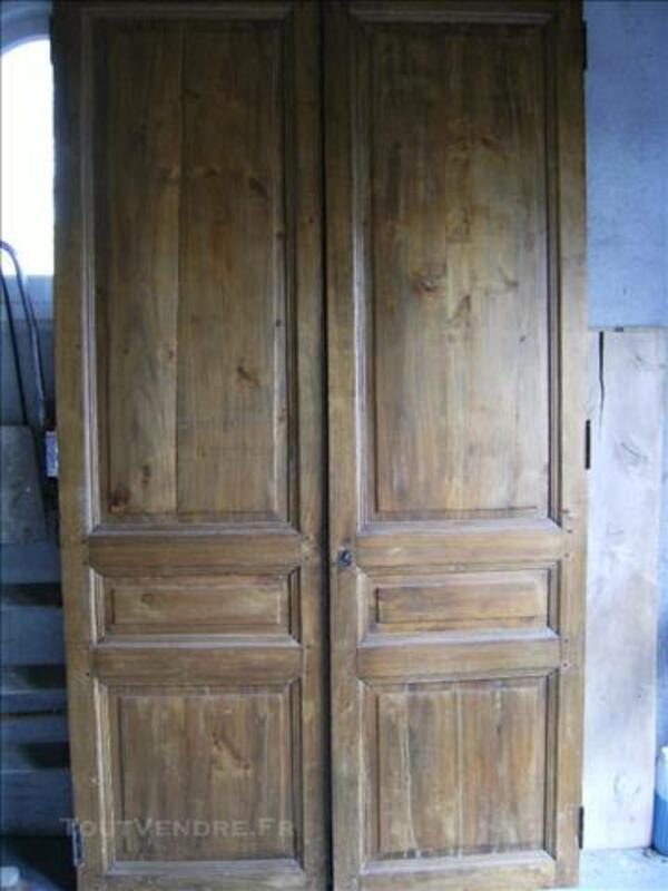 2 portes anciennes de placard 77539613