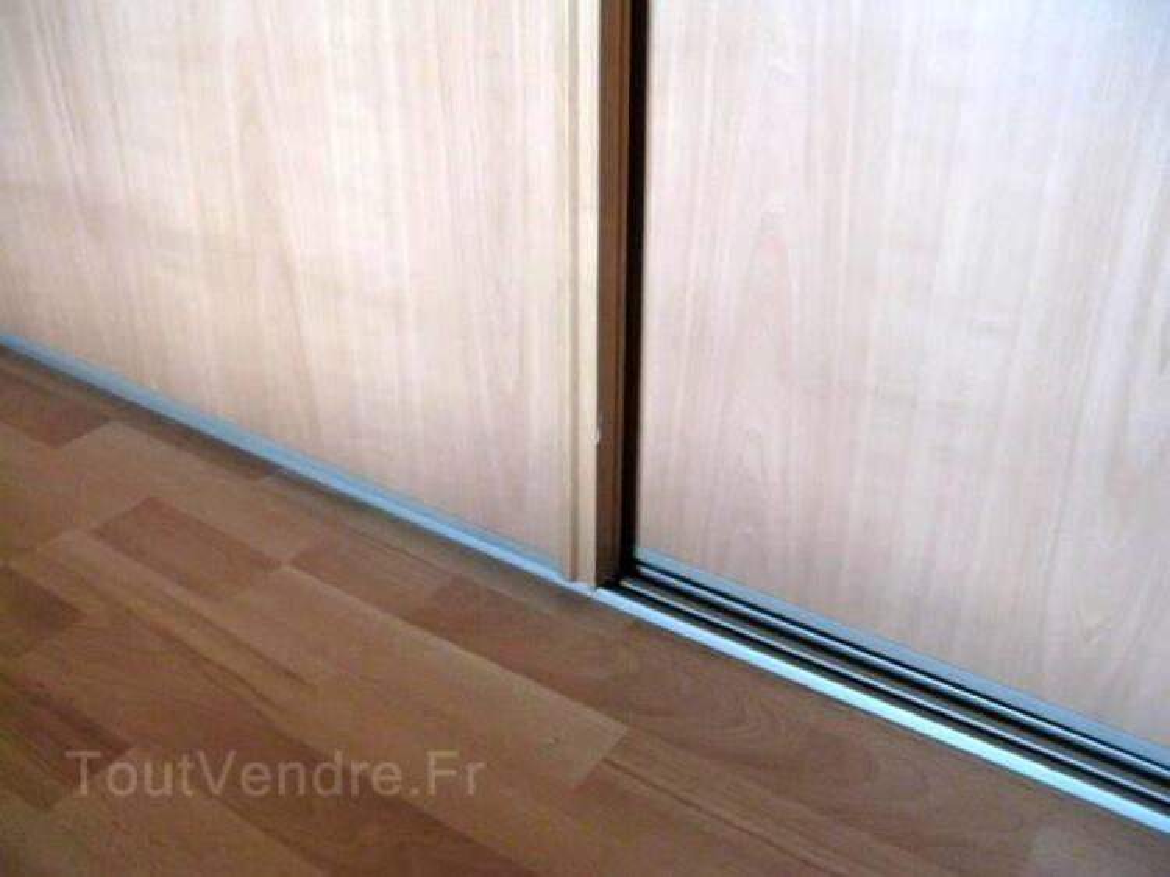 2 portes de placard coulissantes couleur poirier 3240162