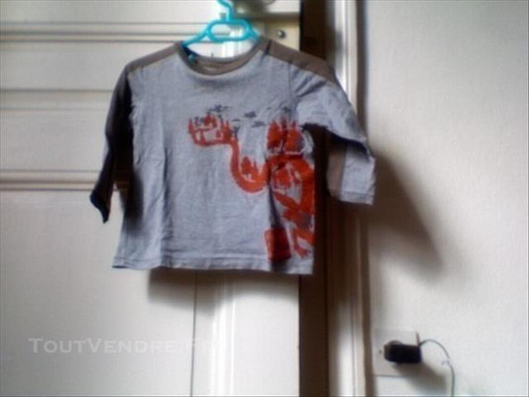 2 T-shirts PETIT BATEAU 3 ans+ ARMOR-LUX 3 ans 84641388
