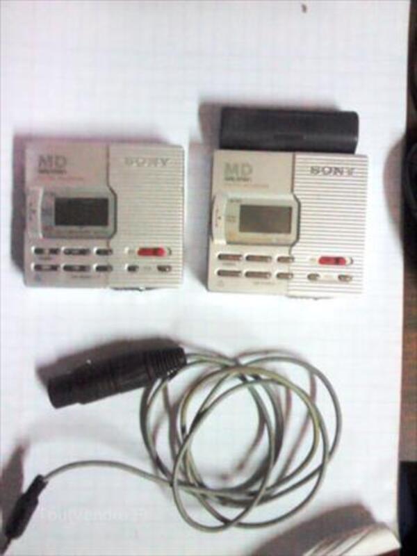 2 walkman mini cd's SONY 56534834