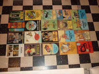 20 livres de collection TINTIN  de 1947 à 1973.