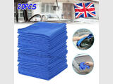 20 x LARGE MICROFIBRE CLEANING AUTO CAR DETAILING SOFT CLOTH