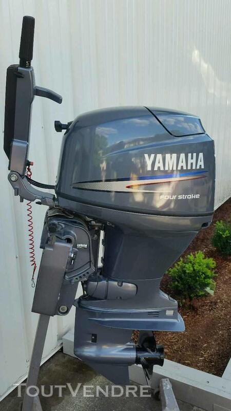 2004 Yamaha 40 Four Stroke avec 15 arbres courts 220734347