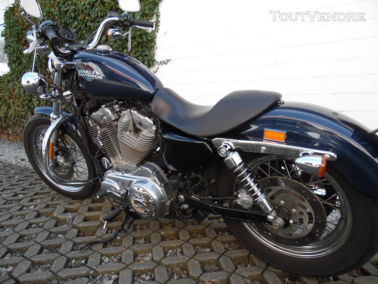 2009 Harley-Davidson XL 883 Sportster Low roues à rayons 237217957