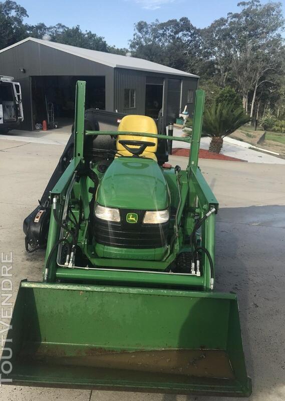 2011 John Deere X748 ride on tracteur / tondeuse à gazon. 286294678