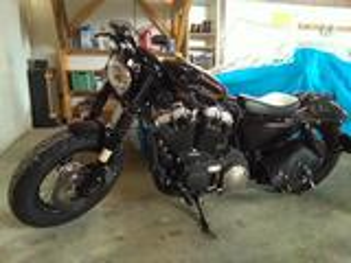 2014 Harley Davidson sporster 48