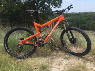 2015 Orange Santa Cruz 5010 Solo C