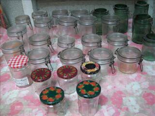 23 bocaux + 6 pots à confiture - zoeannonces