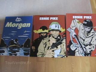 3 BD Hugo Pratt Ernie Pike et Morgan