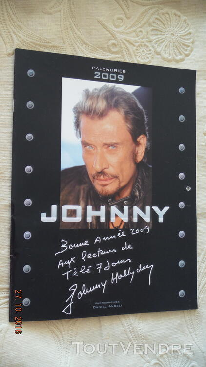 3 Calendriers : 2009,2010,2011 Johnny Hallyday 172041042