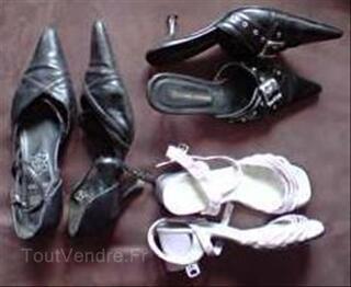 3 paires de chaussures femme taille 37