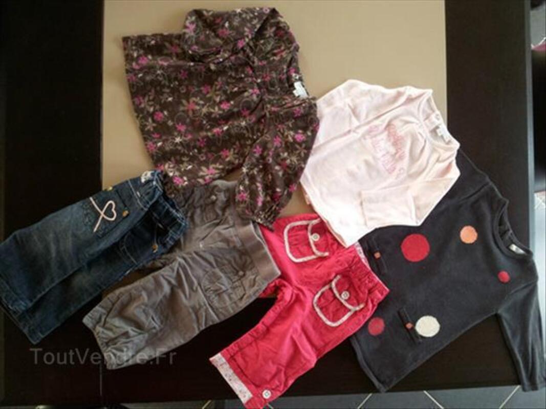 3 vêtements bébé fille 6 mois Automne/Hiver Kimbaloo 89183049